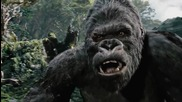 King Kong - Master of Puppets [remastered] Metallica & Peter Jackson's movie 2005: Gorilla vs. T-rex