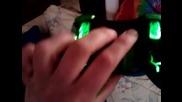 xbox 360 controller Mod Green Light Hd