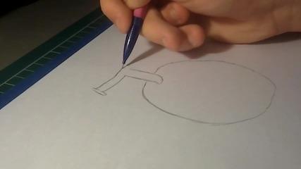 Как да нарисуваме Gomu Gomu No Mi / Гумения плод (one Piece)