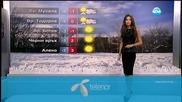 Прогноза за времето (25.12.2015 - централна)
