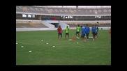 Хавиер Клементе проведе първа тренировка с Либия