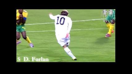 Топ 10 Гола на World cup 2010