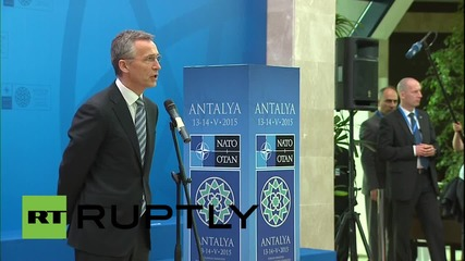 "Turkey: NATO ""establishing a new spearhead force,"" says Stoltenberg in Antalya"