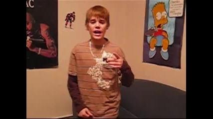Justin Bieber в началото !!!