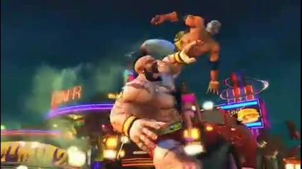 Ssf4 - Costumes and Moves Official Trailer