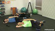 Bikini Body Workout Andrea Orbeck Fitness Class Fitsugar