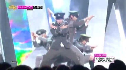 [131012] Shinee - Everybody @ Music Core Comeback Stage