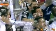 Кралски Реал Мадрид вдигна Купата на краля