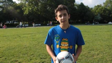 Freestyle Football Урок за Neck Stall и Htatw от Енис Тодоров