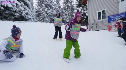 Весели деца на ски във Витоша