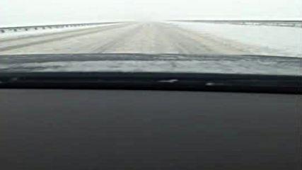 """Моята новина"": Непочистена магистрала при снеховалежа днес"