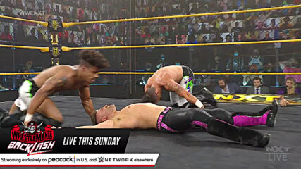 NXT Tag Team Champions MSK vs. Breezango – Non-Title Match: WWE NXT, May 11, 2021