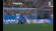 Франция 0:1 Германия (бг аудио) Мондиал 2014