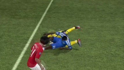 Давид де хея Нинджа !!! Fifa 12 ;dd