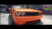 Оранжев Звяр- Dodge Challenger | Vossen |