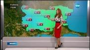 Прогноза за времето (19.02.2016 - централна емисия)