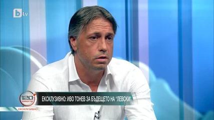 Иво Тонев за бъдещето на Левски
