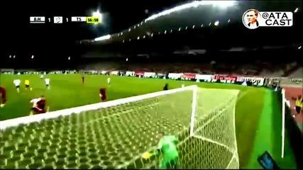 Рикардо Куарешма отбеляза фамозен гол срещу Трабзонспор
