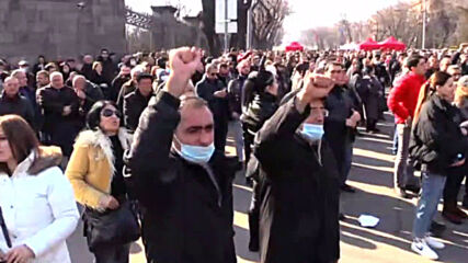 Armenia: Opposition accuse authorities of 'provocation attempts' during Yerevan rally