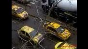 Таксиджиите излязоха на протест в Пловдив
