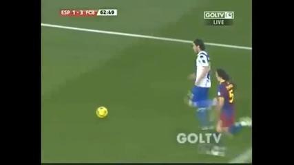 Espanyol vs Barcelona 1 - 5 (18.12.2010)