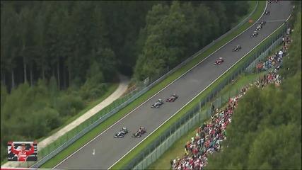 Най - доброто от Гран При на Белгия Формула 1 Сезон 2013
