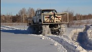 Russia: Ural engineer puts his 'Wolverine' Lada on tank tracks