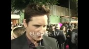 Peter Facinelli: I try to give back to the fans - at the Twilight Saga New Moon premiere