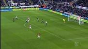 Нюкасъл - Манчестър Юнайтед 3:3, Премиърлийг, 21-и кръг