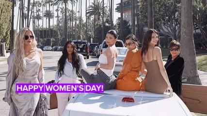 Celebrities celebrate women in all the best ways