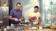 Мъфини с ядки и малини - Бон Апети (02.07.2018)