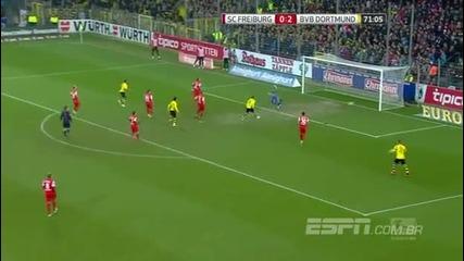 Фрайбург - Борусия Дортмунд 0:3