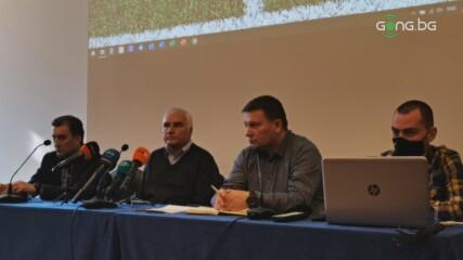 Пресконференция на Съдийската комисия