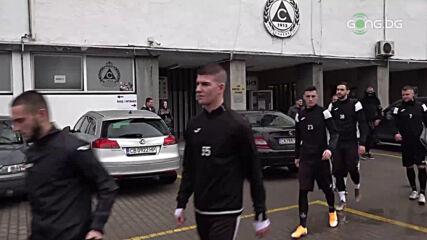 Първа тренировка на Славия за 2021 г.