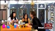 Пиянски свади межди Жени, Зори и Варгала в Баш Бай Брадър - Господари на ефира (24.10.2014)