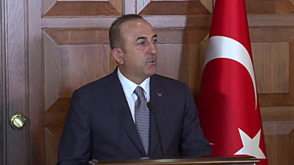 Turkey: FM Cavusoglu warns Syrian govt. 'not to play with fire'