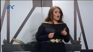 Теди Еротеева - Моме седи на чардак ( Evrokom Tv)