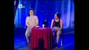 Комиците - Сашето и Ванката се късат от смях в ефир