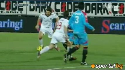Катаня 0 : 2 Милан