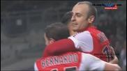 Двата гола на Димитър Бербатов | Тулуза - Монако 0:2 | 5.12.14
