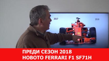 Развитието на Ферари за Сезон 2018
