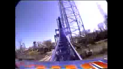 Millenium Force - камера на борда