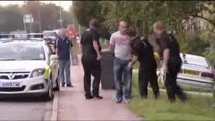 Опит за бягане от полиция