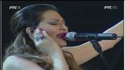 Ceca - Vazduh koji disem - (LIVE) - Tamburica fest - (Tv Rts 2014)