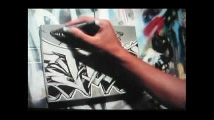Canvas Graffiti Art Point