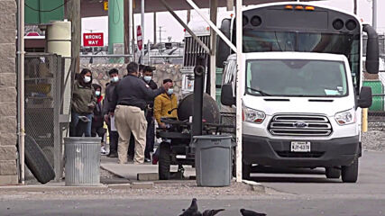 US: El Paso receives first migrants under Biden administration as migration policy softened