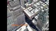 Ню Йорк в Google Earth