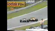 1987 GP of Belgium at Spa Senna and Mansel