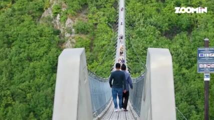 Моста в Германия, от който ще ти спре дъхът