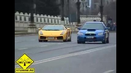 Subaru vs Lambo